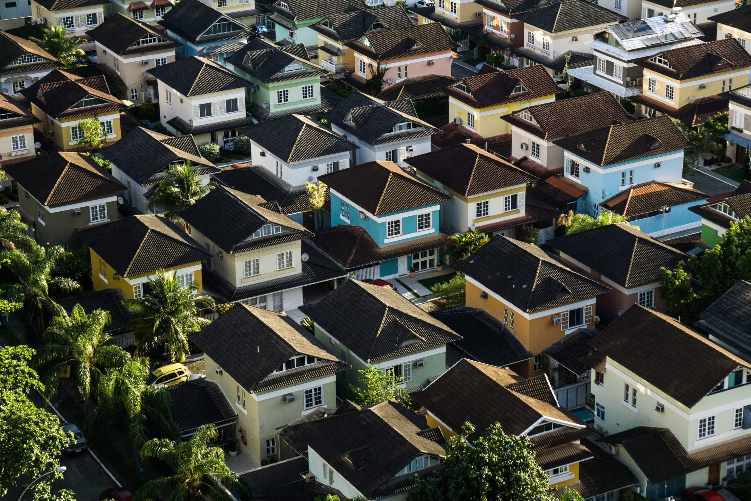 airial view of housing Canaian Housing Market Strong