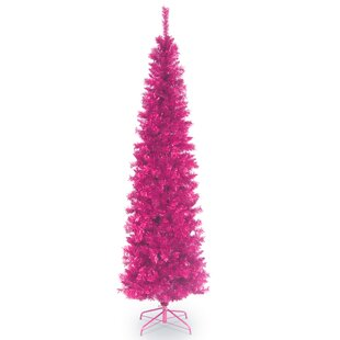 Hot pink Christmas tree -Christmas Décor Inspiration