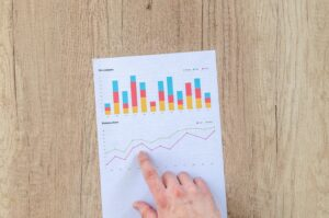 profit graph in red, yellow, blue -How to Choose the Right Real Estate Investment